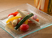 Pickled Seasonal Vegetables