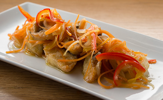 White Fish Escabeche