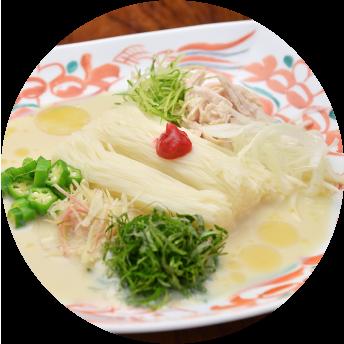 食べるドレッシングのサラダ